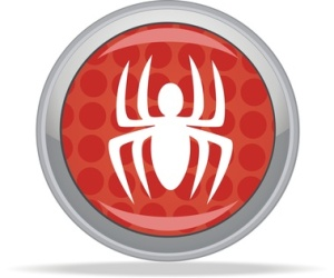 spider button